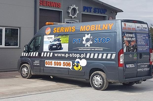 Pomoc drogowa TIR i serwis mobilny TIR