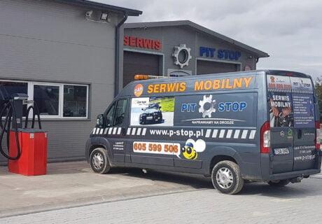 Mobilny serwis TIR. Terenowa naprawa samochodów