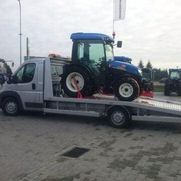 Transport pojazdów, holowanie maszyn rolniczych